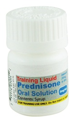 Unit Dose Training Liquid, Prednisone Oral Solution 5mg/mL (5 per pack)