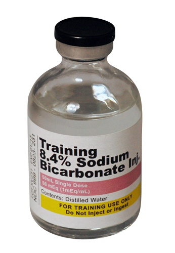 Training Vials, 8 4% Sodium Bicarbonate Injection 50mEq (1mEq/mL)